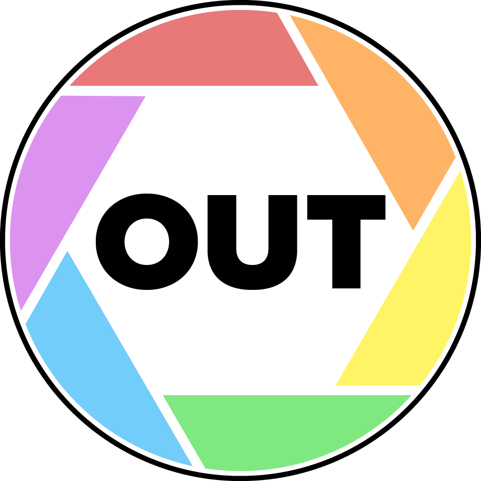 out photo series logo